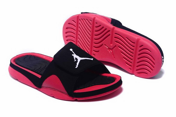 Air Jordan Hydro 4 Retro Shoes Red/black white