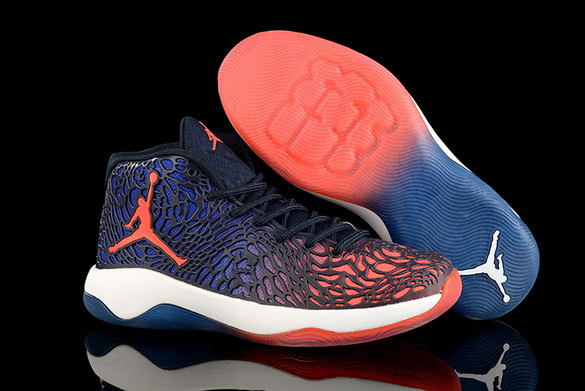 Air Jordan Ultra Fly Shoes Blue/Red White
