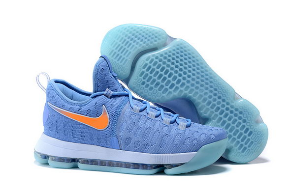 KD 9 Basketball Shoes University Blue/Orange