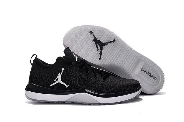 Air Jordan Trainer 1 Shoes Black/White