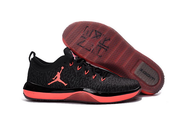 Air Jordan Trainer 1 Shoes Black/Red