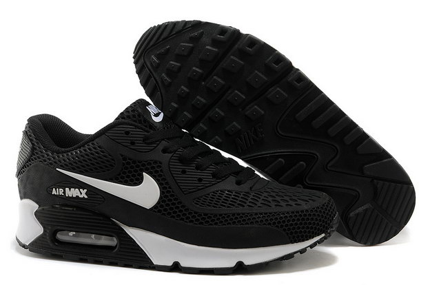 Air Max 90 Shoes Black/white