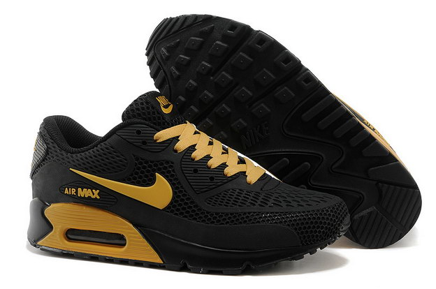 Air Max 90 Shoes Black/gold