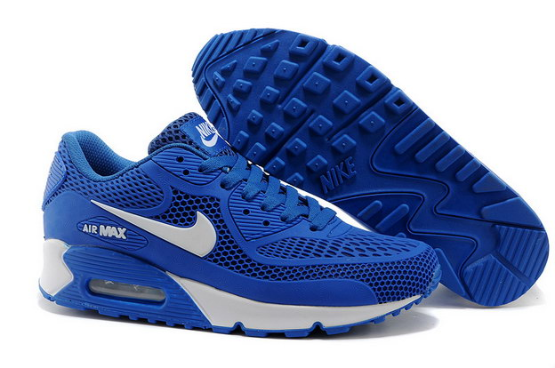Air Max 90 Shoes True blue/white