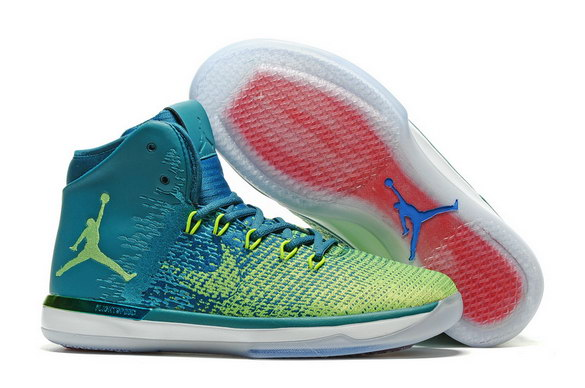 Men's Air Jordan 31 Shoes Green