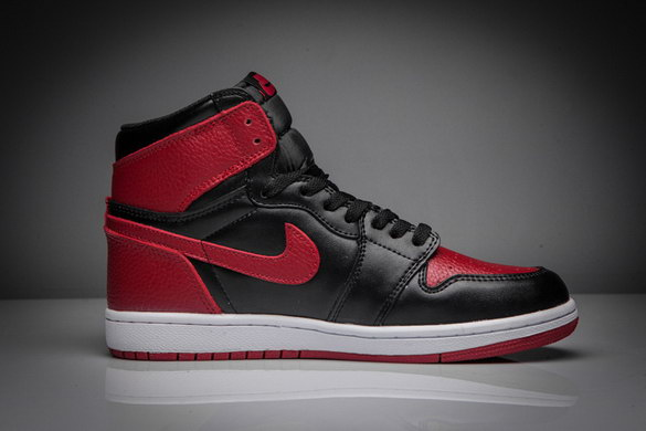 "Air Jordan 1 ""Bred 2016"" Shoes Black/Red"