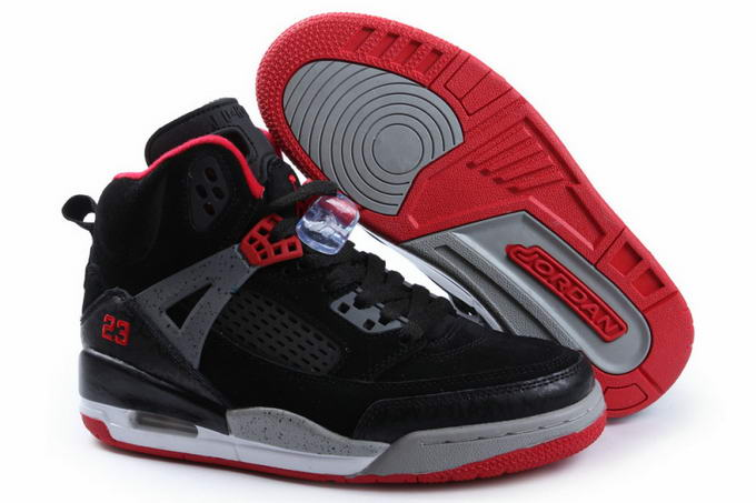 Womens Jordan 3.5 Spizike Shoes Black/Red