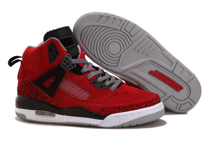 Womens Jordan 3.5 Spizike Shoes Red/Black