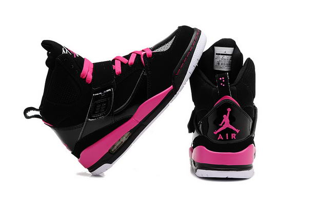 Air Jordan 4.5 Retro Womens Girls Shoes black/pink