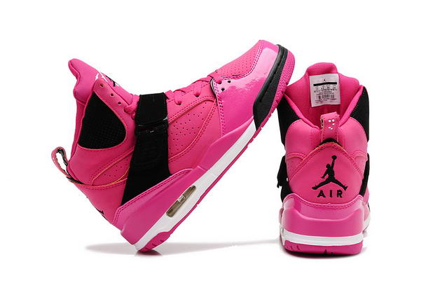 Air Jordan 4.5 Retro Womens Girls Shoes pink/black