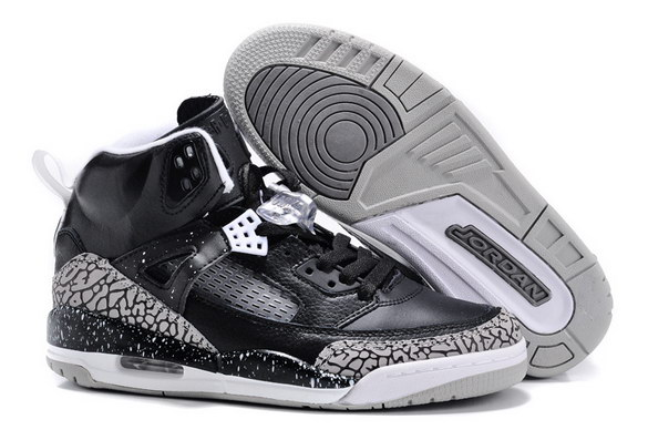 Air Jordan 3.5 Spizike For Women Shoes Black/Gray