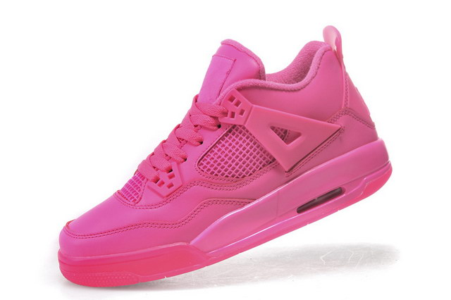 Air Jordan 4 For Women Shoes Pink