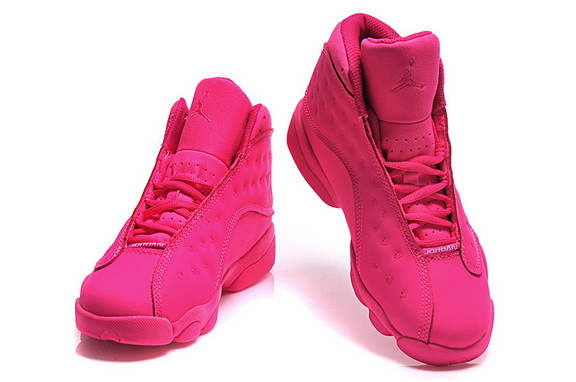 Womens Jordan 13 Retro Shoes Pink