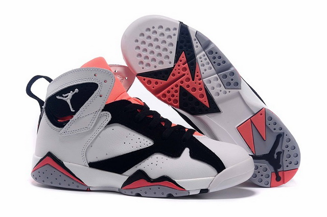 Womens Air Jordan 7 Shoes Pink/white black