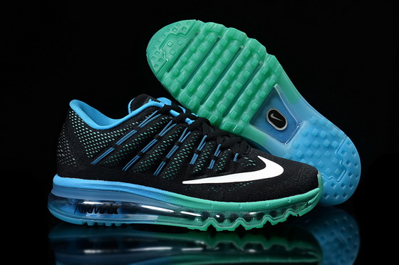 Women's Air Max 2016 Shoes Blue/white black