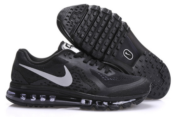 Women's Air Max 2014 Shoes Black/white