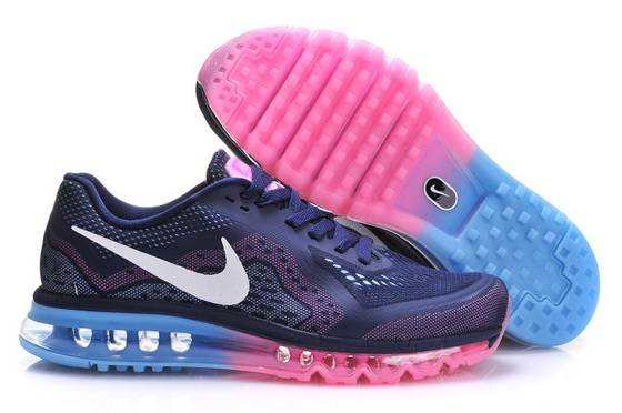 Women's Air Max 2014 Shoes Blue/pink white