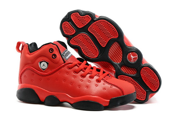 "Air Jordan ""TEAM 2"" GS Shoes Fire red/Black"