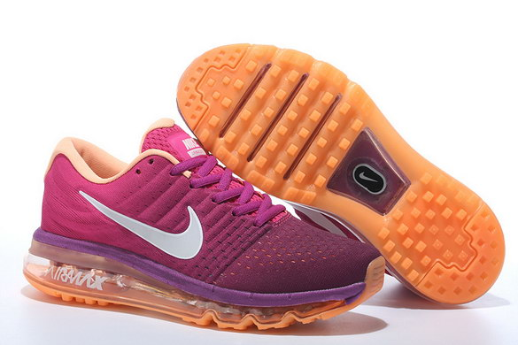 Womens Air Max 2017 Running Shoes Red/White