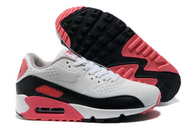 Women's AIR MAX 90 PREMIUM EM Shoes White/black pink