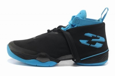Air Jordan 28 Shoes Black/Blue