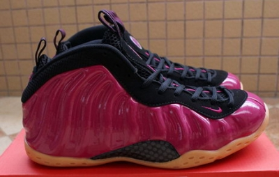 Air Foamposite One 2016 New Shoes Pearlized Pink/black