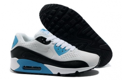 Men's Air Max 90 Premium EM Shoes White/blue black
