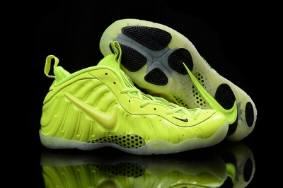 "Air Foamposite One ""volt"" Shoes Green"