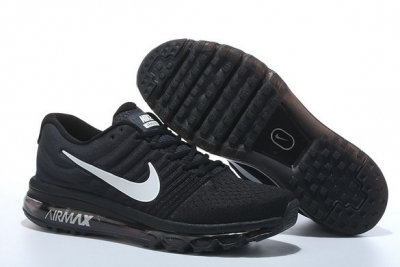 Air Max 2017 Running Shoes Black/White