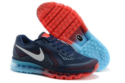Men's Air Max 2014 Shoes Blue/red white