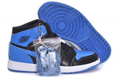 Air Jordan 1 Retro BLACK ROYAL Shoes Blue/Black