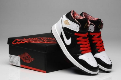 Air Jordan 1 New Color Shoes Road to the Gold