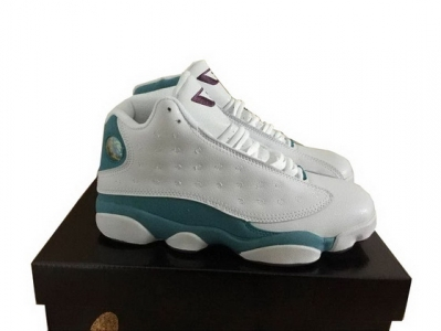 "Air Jordan 13 Retro CP PE ""CP3"" Shoes White/blue purple"