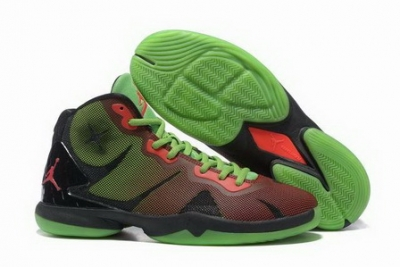 Air Jordan Fly 4 IV Shoes Green/red black