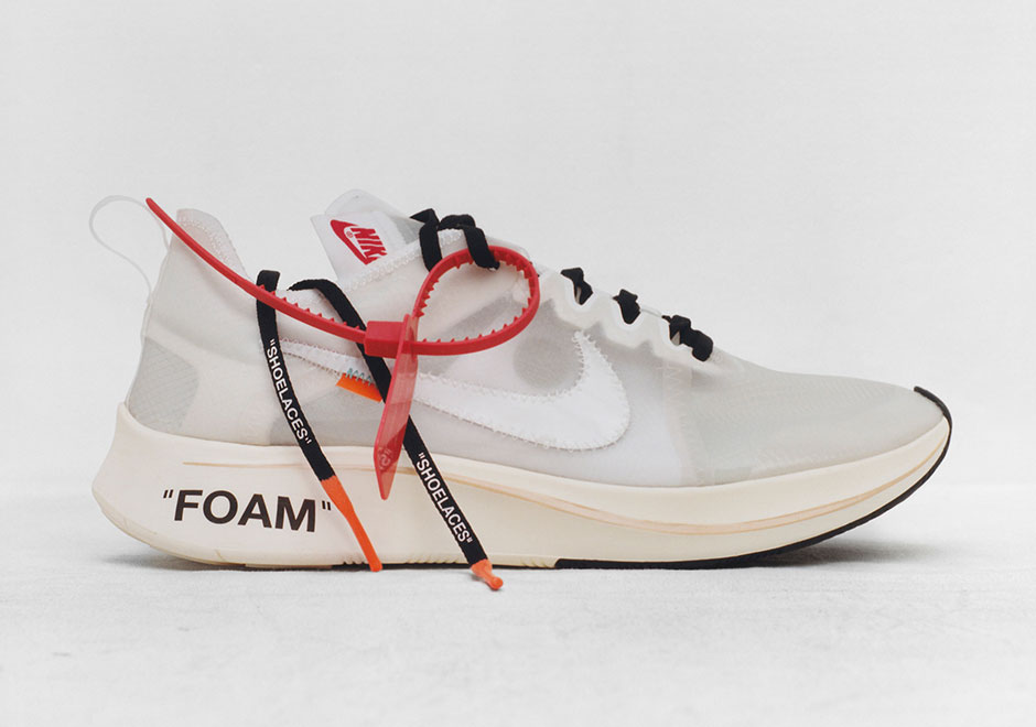 CHEAP NIKE OFF-WHITE SNEAKERS NIKE OFF WHITE X NIKE ZOOM FLY SP