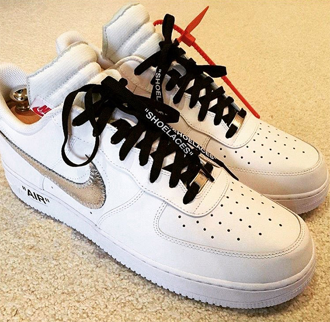 CHEAP NIKE OFF-WHITE SNEAKERS NIKE OFF-WHITE x Nike Air Force 1 Low in white